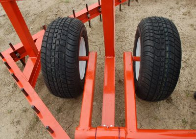 8ft square harrow tire assembly